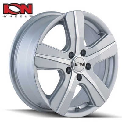 ION Wheels 101 Silver Machined 5 Spoke Transit