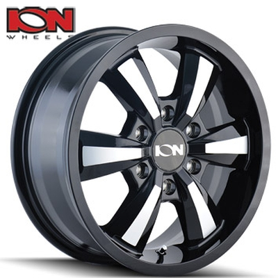 ION Wheels 102 Gloss Black Machined Sprinter