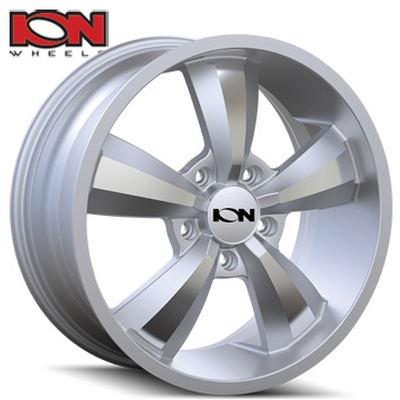 ION Wheels 102 Silver Machined