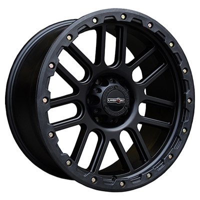 Vision Off Road 111 Nemesis Matte Black w/Removable Ring