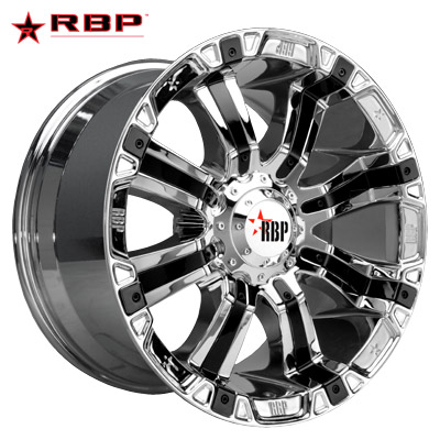 RBP RBP 94R Chrome w/Black Inserts