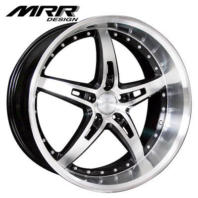 MRR Design GT5 Black w/Machined Lip