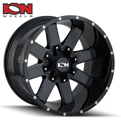 ION Wheels 141 Gloss Black Milled