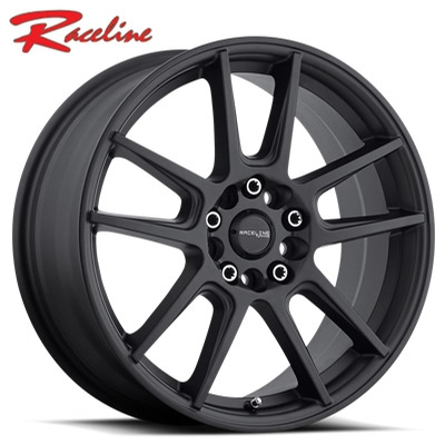 Raceline 142B Rebel Satin Black