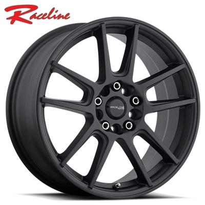 Raceline 142B Rebel Satin Black