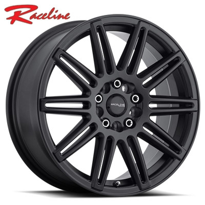 Raceline 143B Cobalt Satin Black