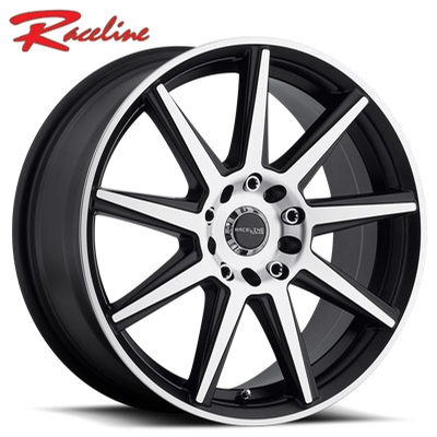 Raceline 144M Storm Machined Black