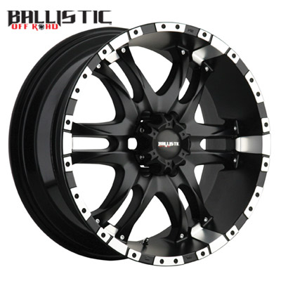Ballistic Off Road 810 Wizard Flat Blk Machined