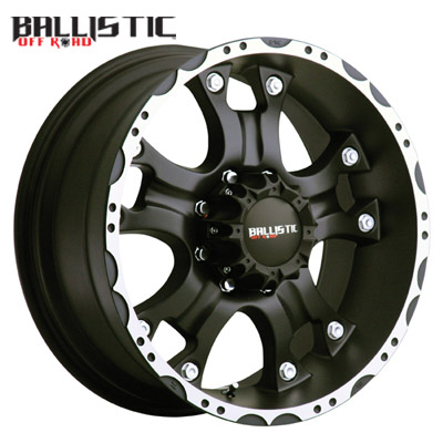 Ballistic Off Road 811 Hostel Flat Black Machined