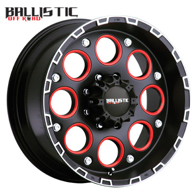 Ballistic Off Road 813 Enigma Flat Black