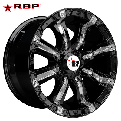 RBP RBP 94R Black w/Chrome Inserts