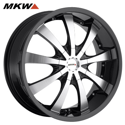 MKW M102 Gloss Blk/Machined