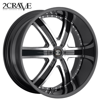 2 Crave No.04 Blk Machined Blk Lip