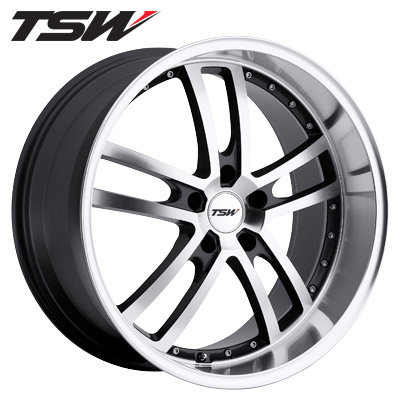 TSW Cadwell Gunmetal w/Machined Face & Lip