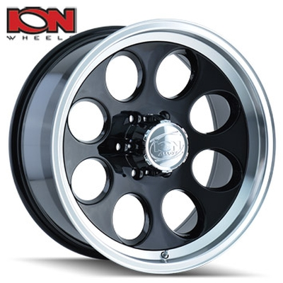 ION Wheels 171 Black Machined Lip