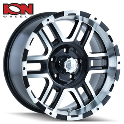 ION Wheels 179 Machined Black