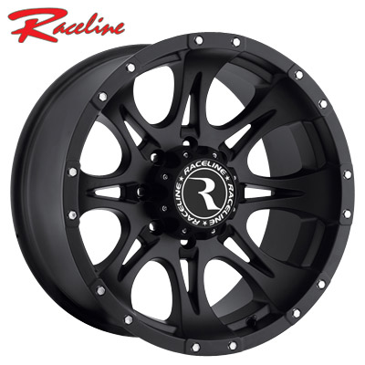 Raceline 981B Raptor Satin Black