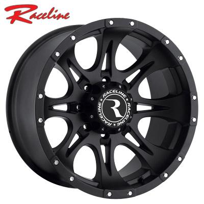 Raceline 981B Raptor Satin Black
