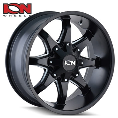 ION Wheels 181 Satin Black Milled