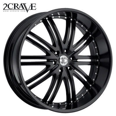 2 Crave No.11 Satin Black