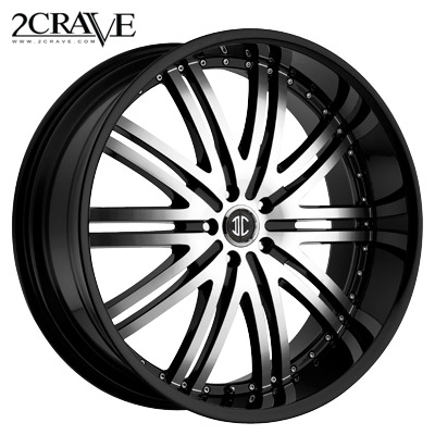 2 Crave No.11 Blk Machined Blk Lip