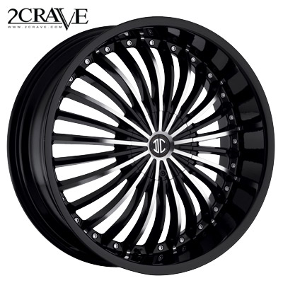 2 Crave No.13 Blk Machined Blk Lip