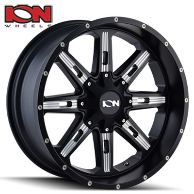 ION Wheels 184 Satin Black Milled