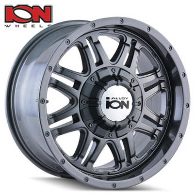 ION Wheels 133 Gunmetal
