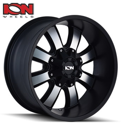 ION Wheels 189 Machined/Satin Black