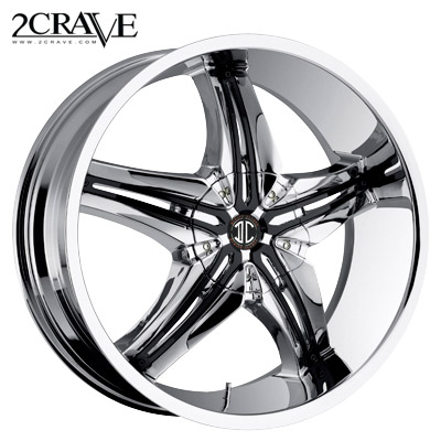2 Crave No.15 Chrome Attach A