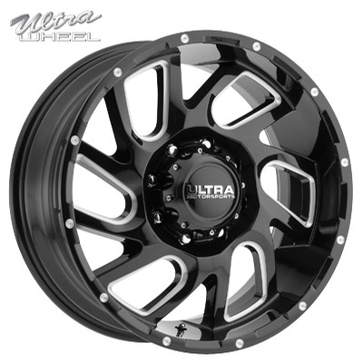 Ultra 221 Carnage Gloss Black w/Milled Spokes