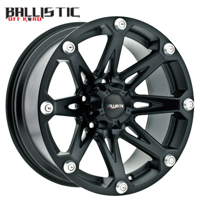 Ballistic Off Road 814 Jester Flat Black