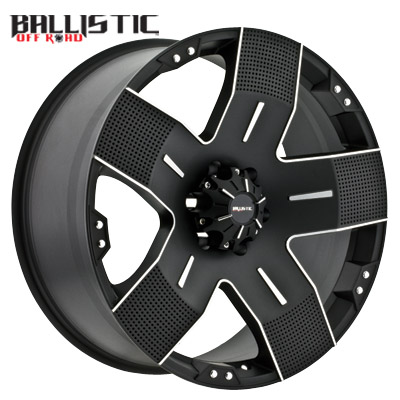 Ballistic Off Road 901 Hyjak Flat Black