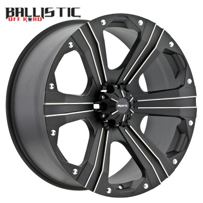 Ballistic Off Road 902 Outlaw Flat Black Machined