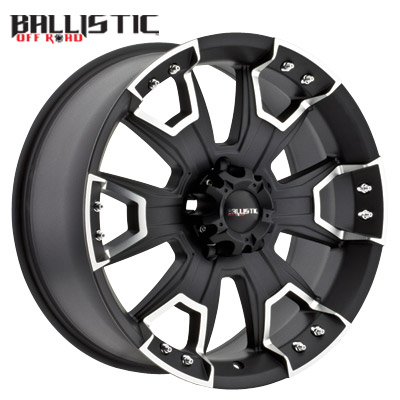 Ballistic Off Road 904 Havoc Flat Black Machined