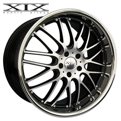 XIX X05 Machined w/Gloss Blk & Chrome SS Lip