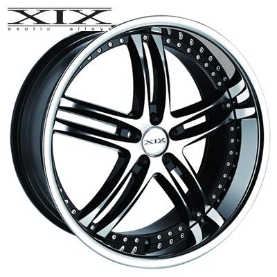 XIX X15 Machined w/Gloss Blk & Chrome SS Lip