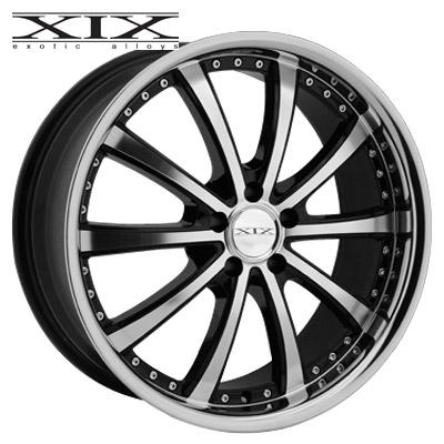 XIX X21 Machined w/Gloss Blk & Chrome SS Lip