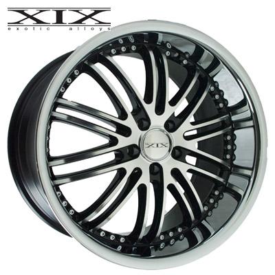 XIX X23 Machined w/Gloss Blk & Chrome SS Lip