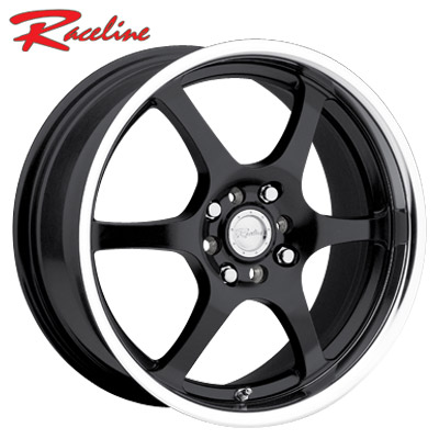 Raceline 126 Black/Mirror Lip