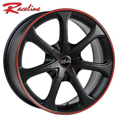 Raceline 197 Black w/Red Stripe