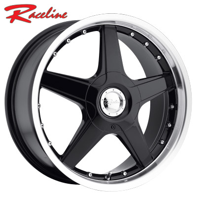 Raceline 125 Black/Mirror Lip