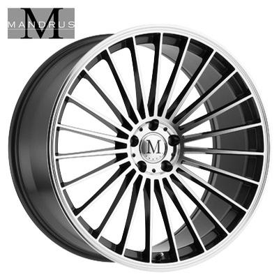 Mandrus 23 Machined Gloss Gunmetal