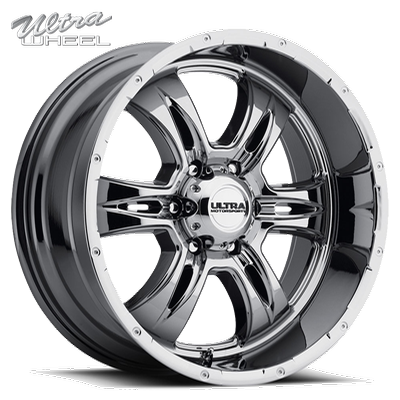 Ultra 249 Predator II 6 Lug PVD Chrome