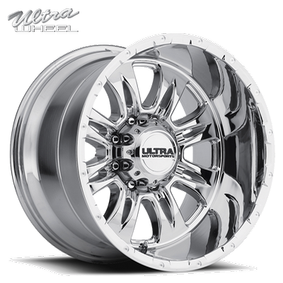 Ultra 249 Predator II 8 Lug PVD Chrome