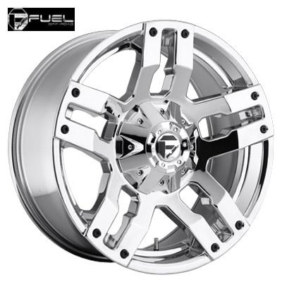 Fuel Off Road D514 Pump Chrome
