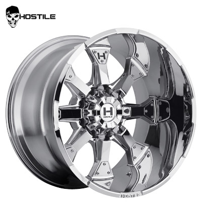 Hostile H101 Knuckles 8 Chrome