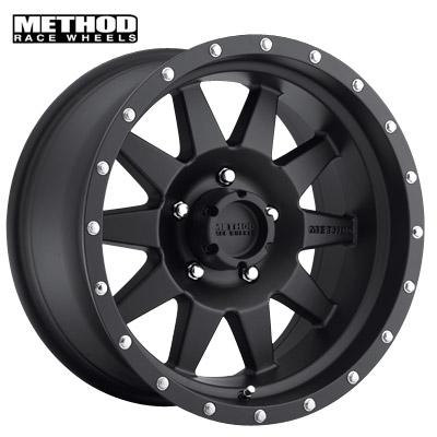 Method Race MR301 The Standard Matte Black
