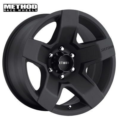 Method Race MR302 Fat Five Matte Black