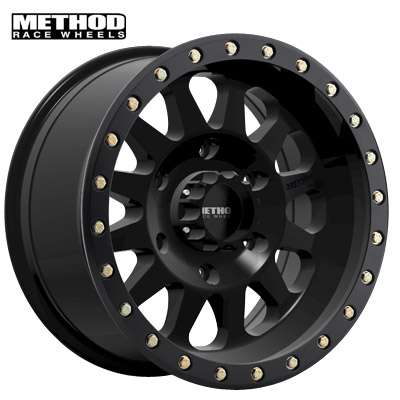 Method Race MR304 Dbl Standard Matte Black
